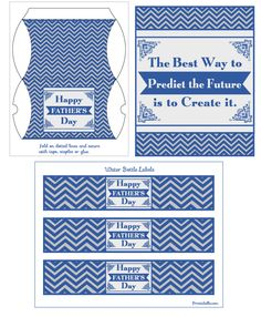 free father's day printables {bookmarks, mini candy bar wrappers, cupcake toppers, coloring book page, etc.}