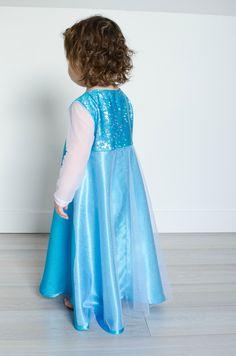 La robe d'Elsa de la Reine des Neiges {tuto} | Couture - enfants