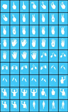Gesture icons for wireframes.  Vector based icons created to aid in the design, development, implementation and promotion of multi-touch interfaces. http://gesturecons.com/
