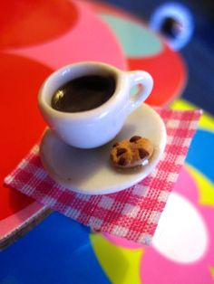 miniature coffee ring Miniature Food, Miniatures, Jewellery, Coffee, Ring, Tableware, Kaffee, Tiny Food, Jewels