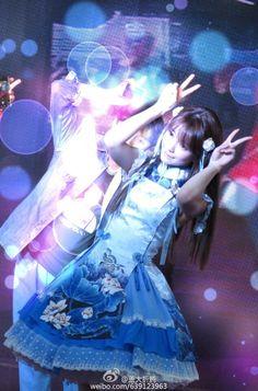 yurisa in blue