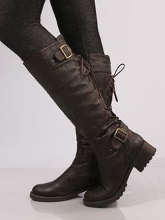 Ballard-Laceup Corset Boot by Wanted