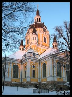My great grandparents grew up around Katarina Church Sodermalm Stockholm.