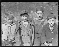 Public Domain: WPA: Children of Miners, West Virginia, March 1937 by Lewis Hine (NARA) by pingnews.com, via Flickr