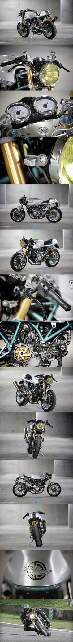 Ducati Paul Smart 1000LE Cafe Racer - by Dutch and Cafe Racer Customs