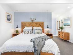 Our Herringbone bed. Herringbone, Beds, House, Furniture, Home Decor, Decoration Home, Home, Room Decor, Home Furnishings