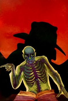 THE SHADOW PULP MAGAZINE COVER FOR MASTER OF DEATH