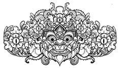 http://th06.deviantart.net/fs70/PRE/i/2011/284/2/6/barong_head_line_art_by_mostlymade-d4cbbq3.jpg