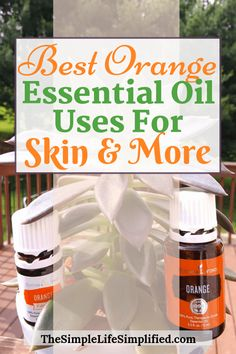 Learn all about the best uses & benefits for the sunshine essential oil: orange! It's great for skin, cleaning, and beyond + get some super simple orange essential oil recipes. Essential Oil Starter Kit, Essential Oils For Skin, Orange Essential Oil, Essential Oil Uses, Young Living Essential Oils, Orange Oil Uses, Essential Oils For Headaches, Best Oils, Oil Benefits