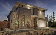 Laguna Vogue Facade 4, New Home Designs - Metricon