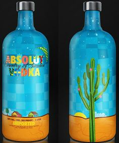 Absolut BRASIL | Regular Absolut vodka (Brazil) | Designed by Rubens LP