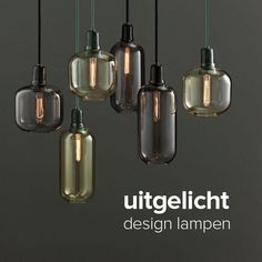 design lampen van Normann Copenhagen