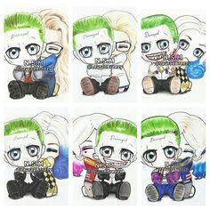 ♦♠♣♥The Joker & Harley Quinn♥♣♠♦ Jarley♡∞ Fan art by lauracbreezy.tumblr.com