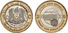 Esta es la libra Siria,la moneda del país.