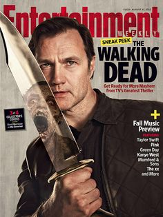Aug Walking Dead EW Cover | THE WALKING DEAD: Season 3: Entertainment Weekly August 31, 2012 Pics