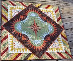 Golden Harvest, Quiltworx.com, Made by Ana Westergard Blickenderfer