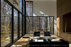 The Graticule House by David Jameson Architect Inc., Great Falls, Virginia, USA