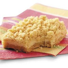 Lemon Crumb Bars Recipe from Taste of Home -- shared by Anna Miller of Quaker City, Ohio