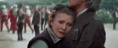 Princesa Leia - Star Wars Episódio VII (Foto: http://giphy.com/gifs/star-wars-trailer-the-force-awakens-xTiTnpA1lrZHK7220o)