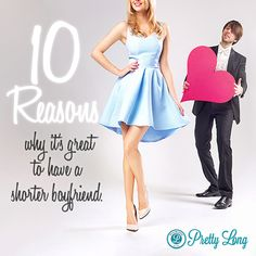 10 reasons why it's great to have a shorter boyfriend #tallgirls Tall girls tales