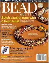Bead and Button Magazine Creative Ideas Jewelry February 2007 Issue Beading Techniques, Beading Tutorials, Beading Patterns, Diy Jewellery Designs, Jewelry Design, Beaded Jewelry, Handmade Jewelry, Beaded Bracelets, Month Gemstones