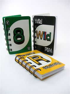 uno notebooks -- great gift for anyone