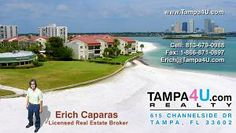Erich Caparas, Licensed Real Estate Broker, Co-founder, Co-owner and CEO of Tampa4U.Com Realty