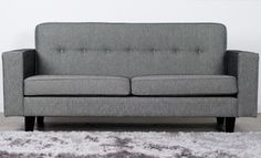 This design is a modern twist on a well loved classic with it's vibrant buttons. This sofa is New Zealand made and you get to choose the fabric it comes in. We have a ..