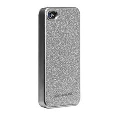 Funda Case-Mate Glam Snap On Cover iPhone 4 4S - Silver. 24.95€