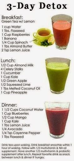How to make detox smoothies. Do detox smoothies help lose weight? Learn which ingredients help you detox and lose weight without starving yourself. Bebidas Detox, 3 Day Detox Cleanse, Diet Detox, Healthy Cleanse, Detox Foods, Super Cleanse, Vegan Detox, Master Cleanse, Body Detox