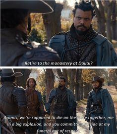 What he should have said to convince Aramis to stay