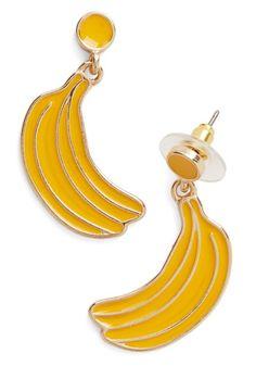 Real A-peel Earrings, @ModCloth