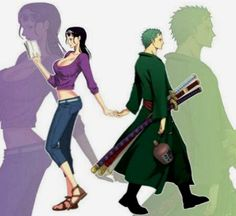One Piece☆, Zoro, Robin, ONE PIECE Pictures