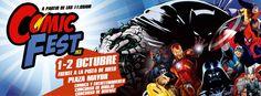 Evento: Comic  Fest  Mx. 2016 Fechas: 1 y 2 de Octubre 2016  Lugar:  PLAZA  MAYOR  León, Gto. en Comic Fest Mex frente a la  pista ...