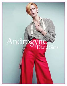 David Sims edito : Androgyne  Get Bowie-inspired...