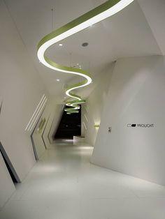 SUPER-G LED SUSPENSION Prolicht DARK / design / colors / architectural lighting