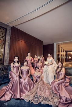 A grand blush and rose gold wedding with a classic romantic theme – Gold Wedding Gowns Old Rose Wedding Motif, Wedding Motifs, Dusty Rose Wedding, Wedding Motif Color, Gold Wedding Gowns, Gold Wedding Theme, Dream Wedding, Wedding Dresses, Wedding Entourage Gowns