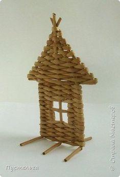 Домик для детских МК (ёлочное украшение) фото 15
