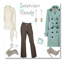 """""""Interview Ready"""" by delucia ❤ liked on Polyvore featuring Burberry, Juan Carlos Obando, Michael Antonio, Chanel, women's clothing, women, female, woman, misses and juniors"""