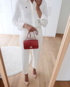 Fashion Mode, Office Fashion, Minimal Fashion, Modest Fashion, Fashion Outfits, Fashion Tips, All White Outfit, White Outfits, Classy Outfits