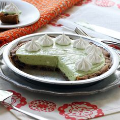 Try this Green Monster Avocado Pie when you are searching for a unique and delicious dessert. Refreshing and great as a make ahead option.