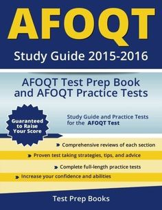 Afoqt Study Guide 2015-2016: Afoqt Test Prep Book And Afoqt Practice Tests - http://books.goshoppins.com/education-reference/afoqt-study-guide-2015-2016-afoqt-test-prep-book-and-afoqt-practice-tests/