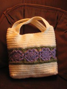 Flower Burst Bag By Yasmin Gamal - Free Crochet Pattern - (ravelry)