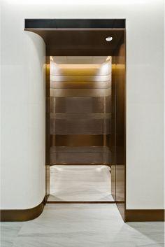 w50-通过。 Interior Architecture, Interior And Exterior, Interior Design, Elevator Design, Elevator Lobby, Public Hotel, Lift Design, Entrance Foyer, Space Interiors