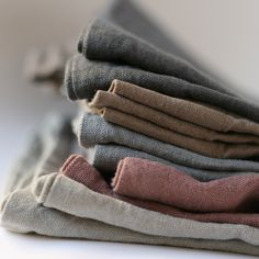 Linen colors by LINEN AND MILK