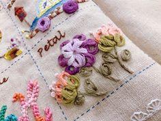 헬렌정의 프랑스자수 스티치북 클래스 결실의 순간(수업문의) : 네이버 블로그 Embroidered Roses