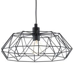 EGLO hanglamp Carlton 2 - zwart | Leen Bakker