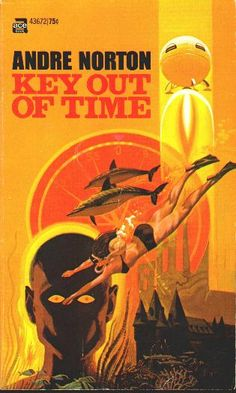 Key out of Time - Andre Norton.  Available free for Kindle, etc - but w/o this great cover...
