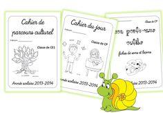 Les pages de garde des cahiers 2014/2015 - Caracolus