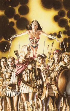 Wonder Woman #224 cover by J.G. Jones